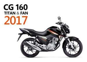 Fotos e Preços | Nova CG 160 Titan 2017