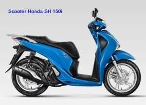 Esta é a nova Honda SH 150i Scooter!