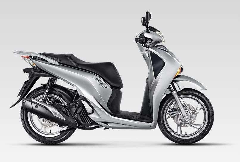 scooter-honda-sh150 prata
