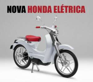 Moto elétrica da Honda: saiba tudo!