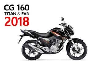 Fotos e Preços – Novas CG 160 Titan Fan 2019