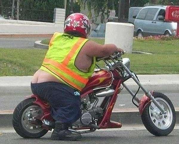 anao na moto pequena