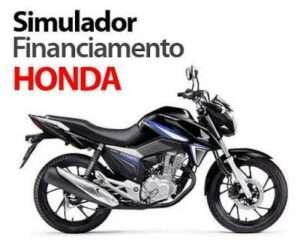 Simulador Financiamento Moto Honda