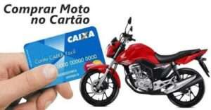 Aprenda a comprar moto no cartão de crédito
