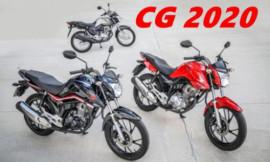 CG 160 2020 da Honda é revelada! Veja fotos e preço