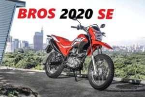 Bros 2020 Special Edition SE é lançada pela Honda